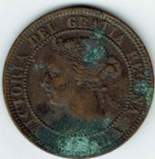 Canada, Victoria, One Cent 1900, AF, WB5434